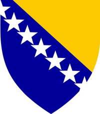 emblem of Bosnia and Herzegovina