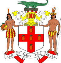 emblem of Jamaica