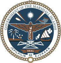 emblem of Marshall Islands